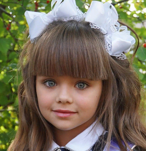 Анастасию Князеву признали самой красивой девочкой в мире