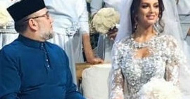 «Мисс Москва» вышла замуж за короля Малайзии