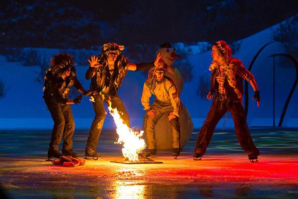 Ледовый спектакль «Мама» - красочное шоу