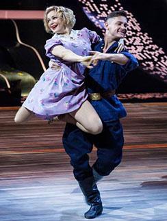 Ирина Пегова и Андрей Козловский набрали рекордные 199 баллов