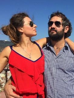 Жанна Бадоева с мужем