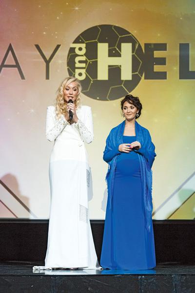 Идеолог проекта Катя Смольникова (слева) с единомышленницей Викой Шатовой