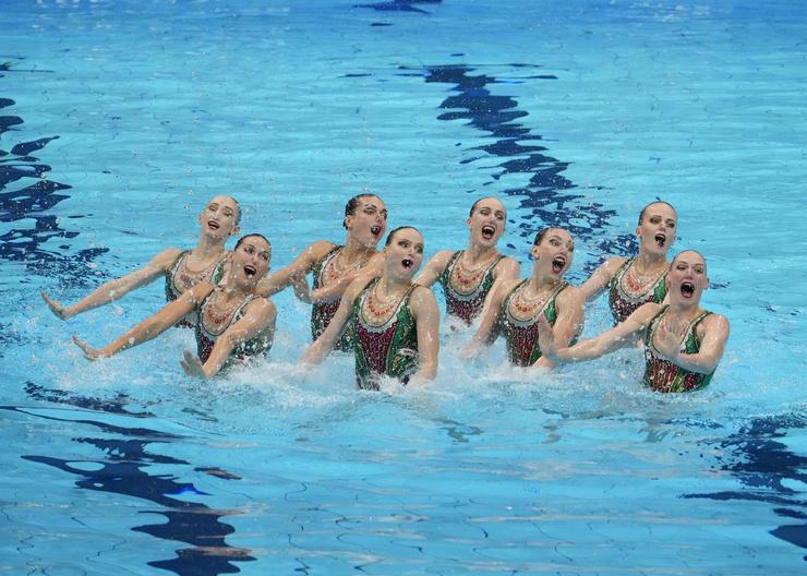 Наша команда стала лучшей по синхронному плаванию на Олимпиаде в Токио.