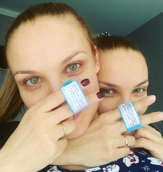 Ольга и Татьяна Арнтгольц родили с разницей в 20 дней