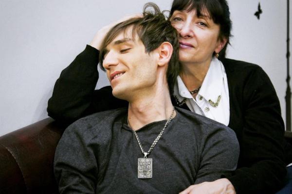 Александр Шепс с мамой