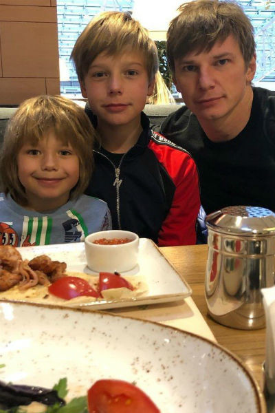 Аршавин лишь недавно возобновил общение с детьми от Барановской
