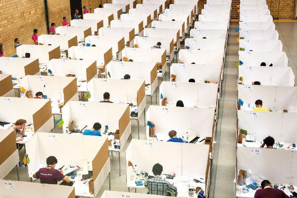 Вот так проходили состязания в Цюрихе