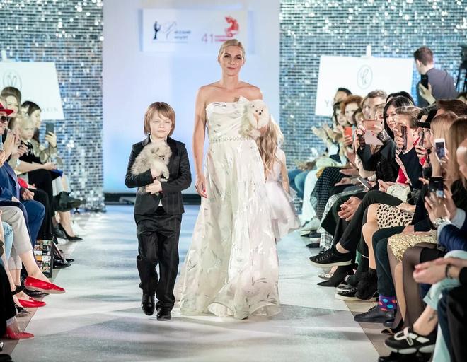 Катерина Кабакова с сыном