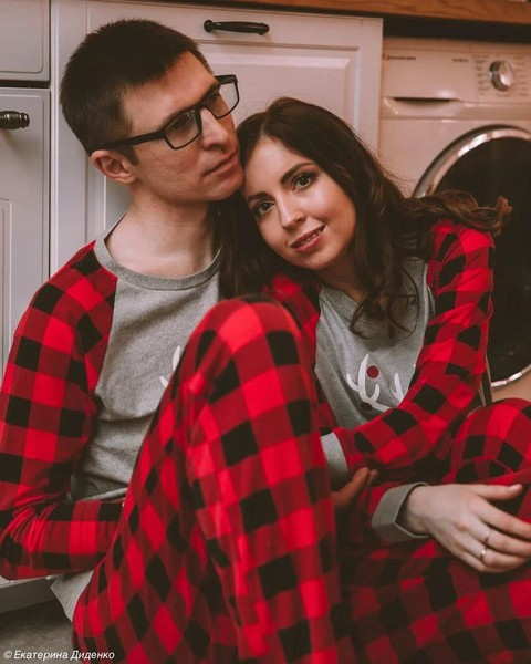 Екатерина и ее муж Валентин