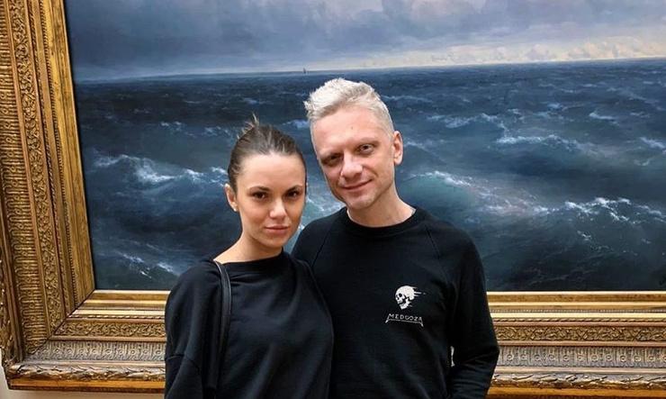 Александр Шаляпин с женой