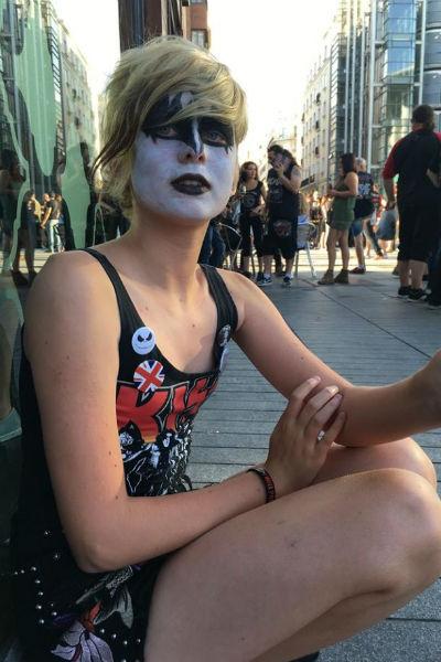 Дочь Ветлицкой Ульяна увлечена рок-музыкой