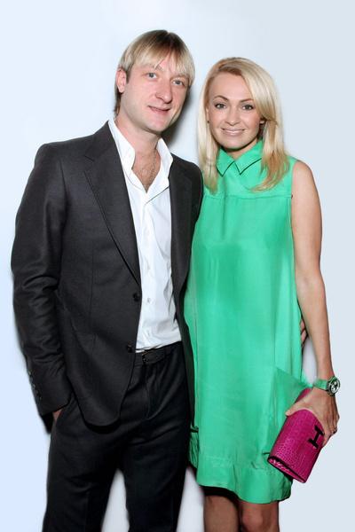 Евгений Плющенко и Яна Рудковская поженились, несмотря на скептицизм родных