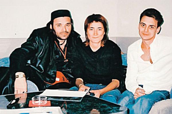 Земфира и Влад Колчин (справа) вместе пели по ресторанам Уфы