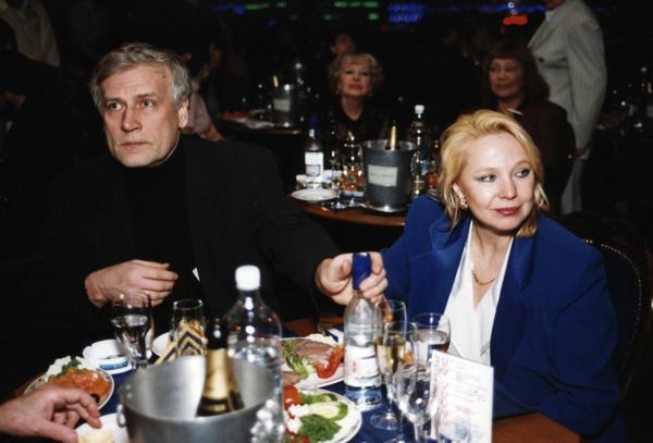 Алла Панова стала третьей супругой Бориса Невзорова