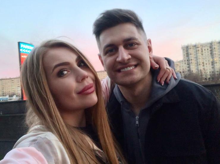 Карина Кросс и Давид Манукян