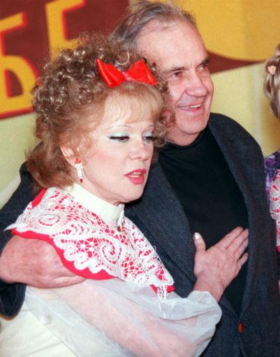 Легендарный режиссер с Людмилой Гурченко, 1999 год