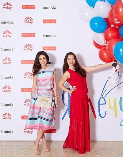 Лиала Давтян-Lamoda и Вера Лихошерстова-W-day