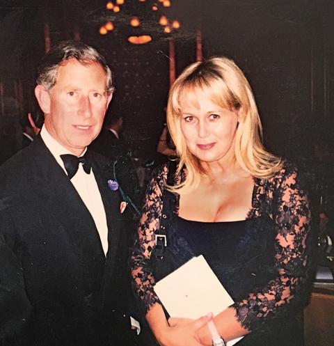Бизнесвумен Людмила Браташ была представлена даже настоящему принцу