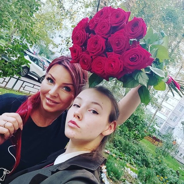 Анна Быстрова с дочерью