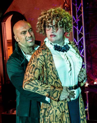 Дмитрий Нагиев и Александр Ревва в образе