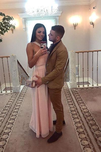 Свадьба Ольги и Виктора была скромной