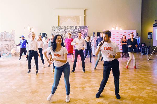 Танцевальный мастер-класс