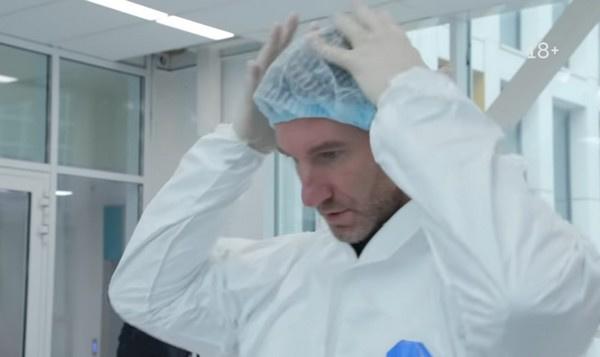 Красовский говорит, что костюм очень неудобный