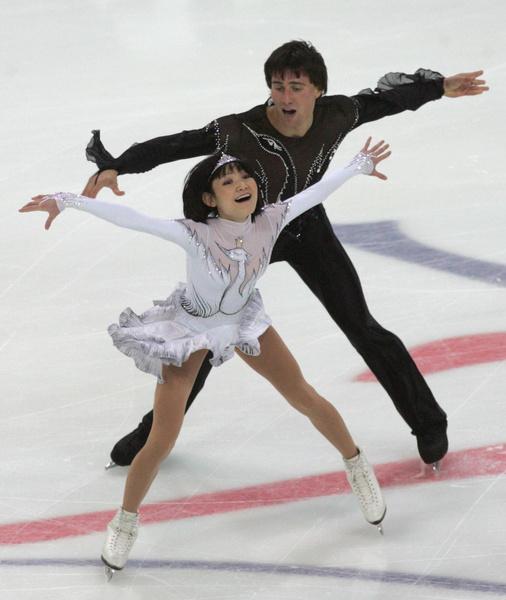 Юко Кавагути и Александр Смирнов