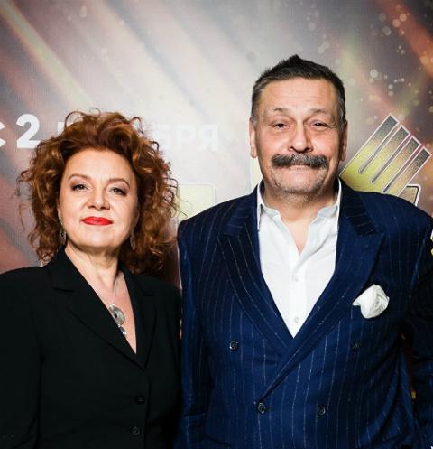 Дмитрий Назаров с женой