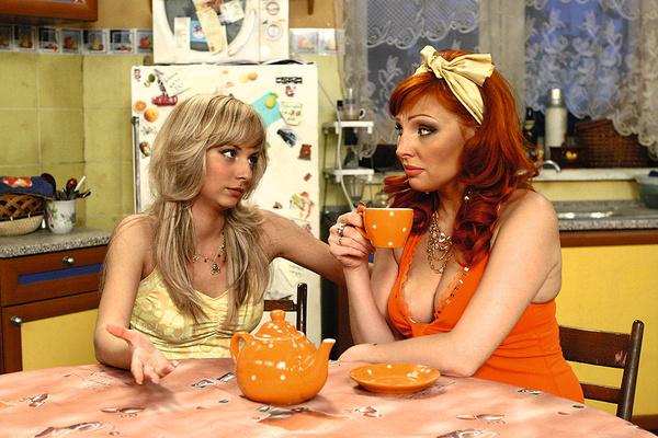 В ситкоме про семейку Букиных Дарья играла дочь героини Бочкаревой, хотя младше экранной мамы всего на семь лет
