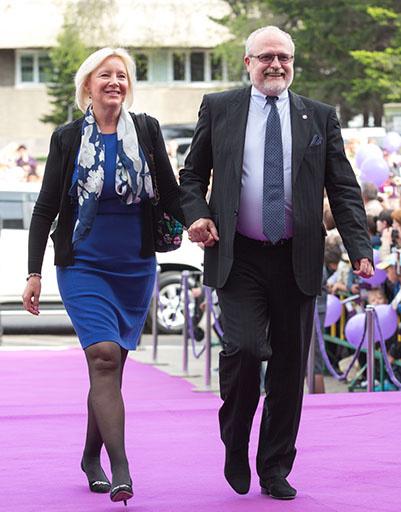 Владимир Хотиненко с супругой Татьяной
