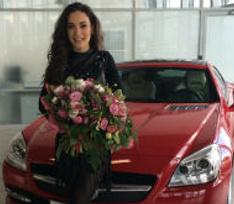 Виктория Дайнеко пополнила автопарк «Мерседесом» за несколько миллионов