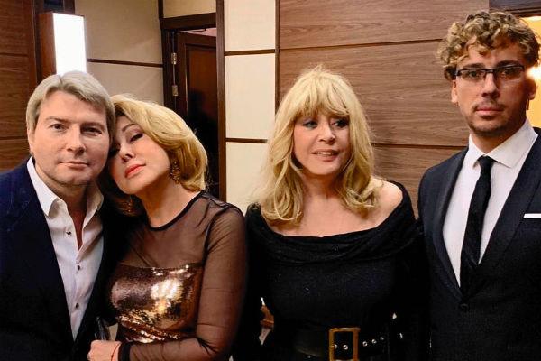 Недавно артистка вместе с коллегами посетила новое шоу Светланы Лободы