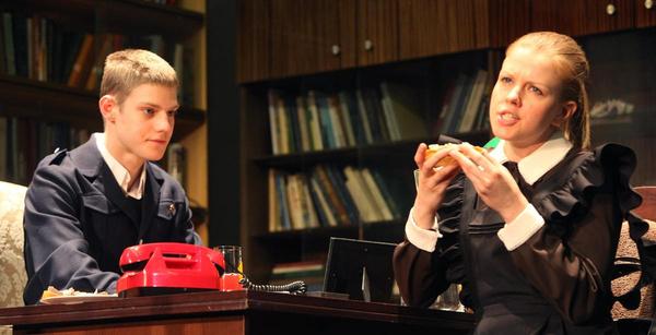 Актер впервые появился на сцене в спектакле Богомолова «Год, когда я не родился»