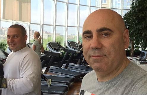 Иосиф Пригожин с тренером