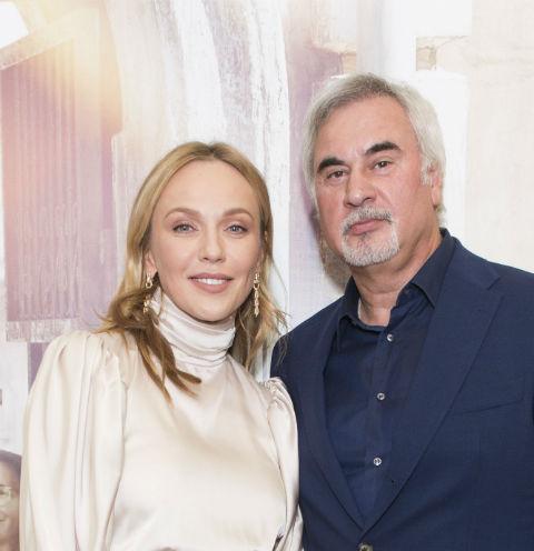 Альбина Джанабаева и Валерий Меладзе