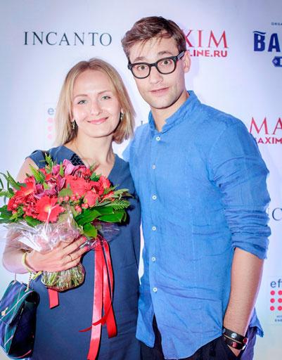Роман Полянский с супругой