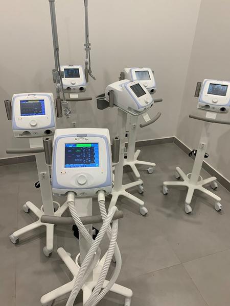 В больнице используются современные аппараты