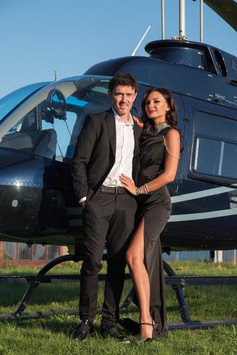 Инна Жиркова с супругом