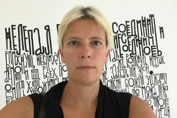 Первой женой дизайнера стала журналистка Марина Литвинович.