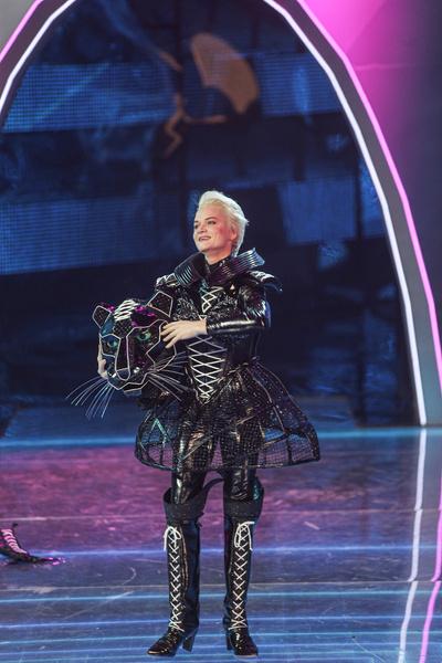 Светлана принимала участие в шоу в костюме Черной пантеры