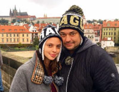 Сергей Жуков устроил жене сюрприз в день рождения
