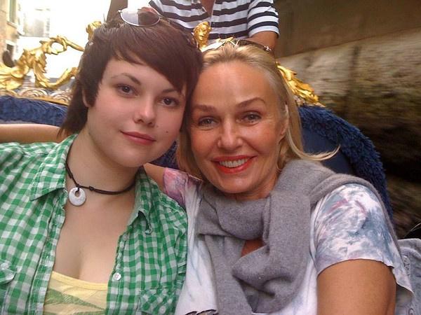 Андрейченко часто путешествует и с дочерью