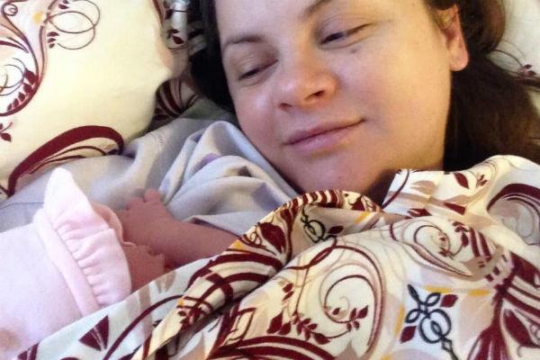Маленькая Вероника появилась на свет 8 октября