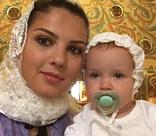 Алексей Рыжов крестил дочь. ФОТО