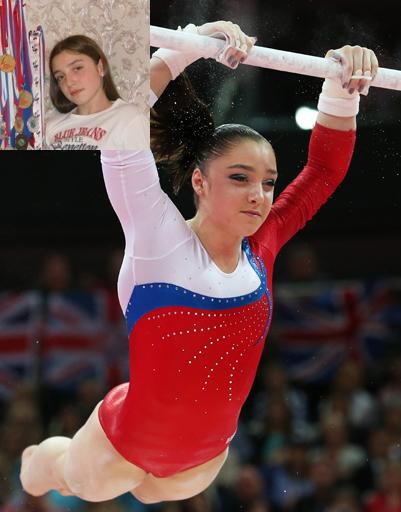 Гимнастка Алия Мустафина