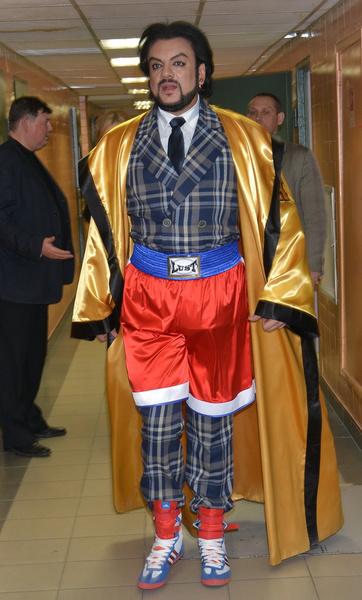 Киркоров часто удивляет публику своими нарядами