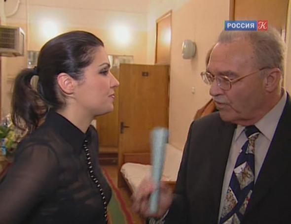 Анна Нетребко с отцом Юрием