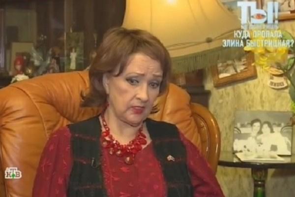Зинаида Кириенко обеспокоена состоянием Элины Быстрицкой