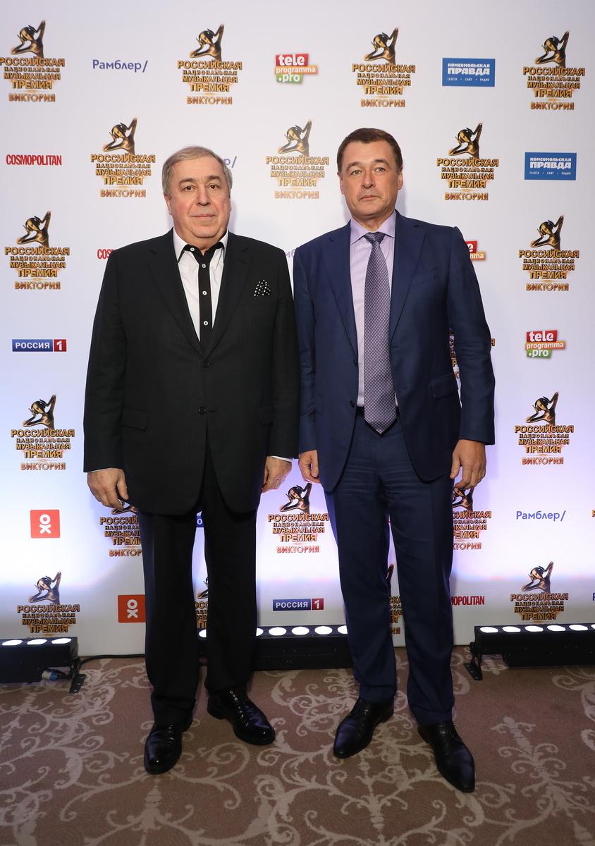 Михаил Гуцериев (слева) и Юрий Костин